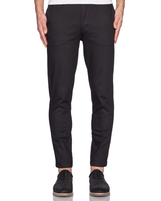 I Love Ugly | Black Smart Pant for Men | Lyst