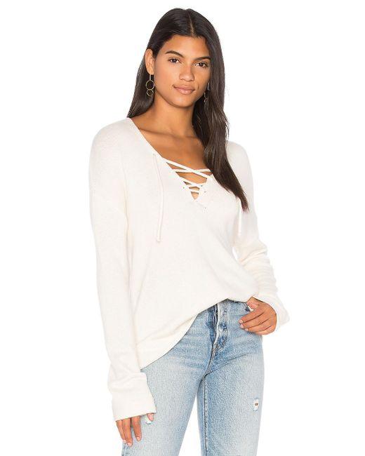 Joie | White Larken Sweater | Lyst