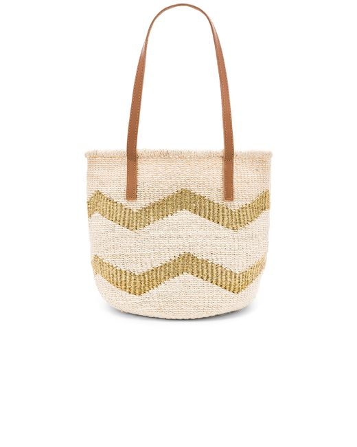 kayu chevy small tote bag in metallic gold lyst