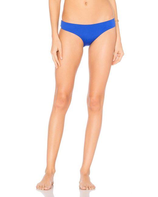 Onia   Blue Lily Bikini Bottom   Lyst