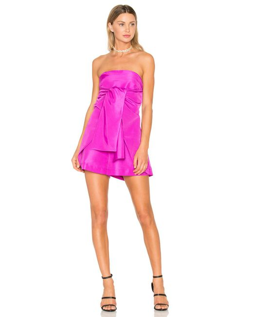 Paper London | Pink Bow Romper | Lyst
