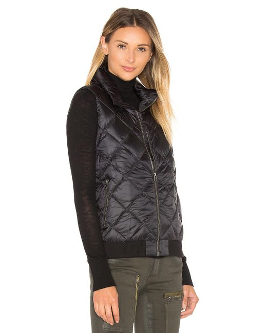 Patagonia Prow Bomber Vest In Black Lyst