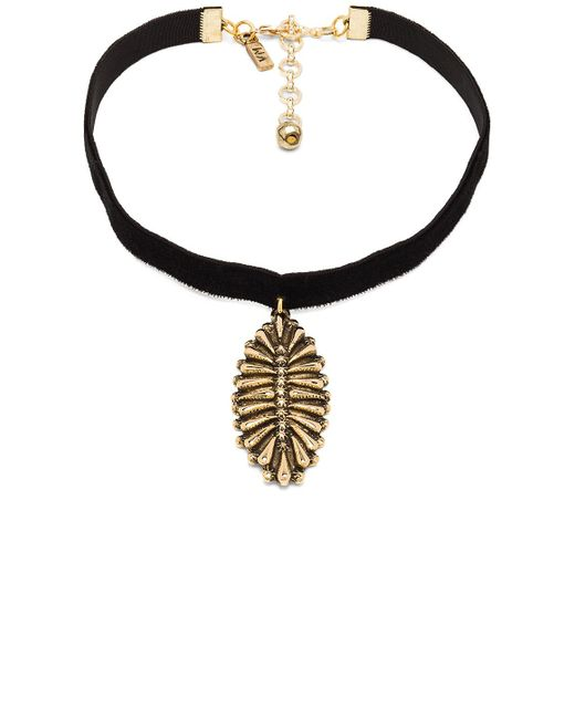 Vanessa Mooney | The Black Velvet Western Charm Choker | Lyst