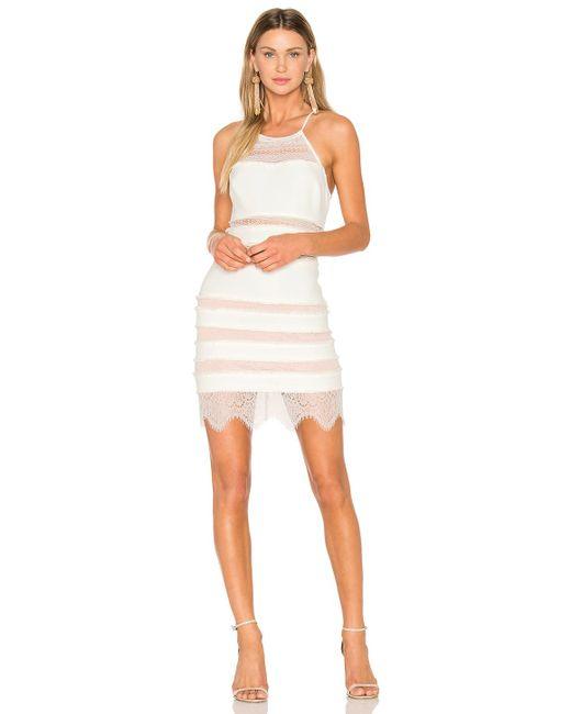 X By NBD | White Sawyer Dress | Lyst