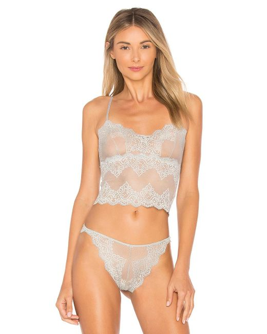 Only Hearts - Multicolor So Fine Lace Cami In Gray - Lyst