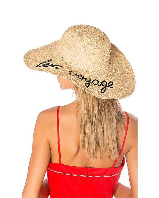 Hat Attack - Natural Bon Voyage Sunhat - Lyst