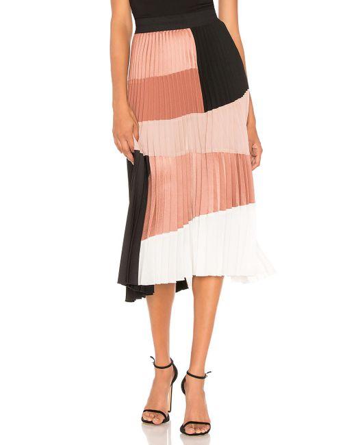 Nude - Multicolor Colorblock Skirt - Lyst