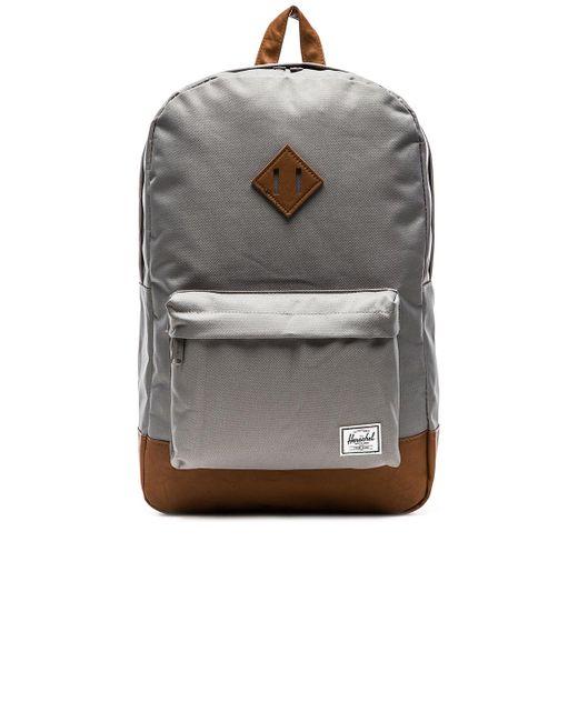 Herschel Supply Co. - Gray Heritage - Lyst
