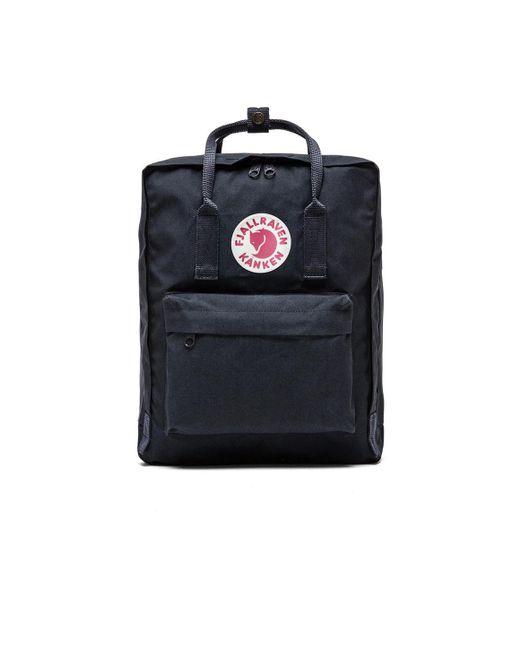 Fjallraven | Black Classic Kanken Backpack | Lyst