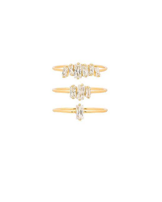 Gorjana - Amara Ring Set In Metallic Gold - Lyst
