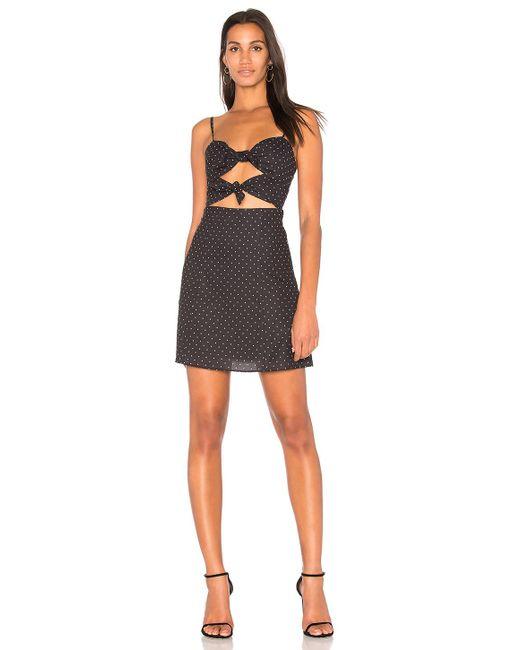 Fame & Partners | Black X Revolve Mini Dress | Lyst