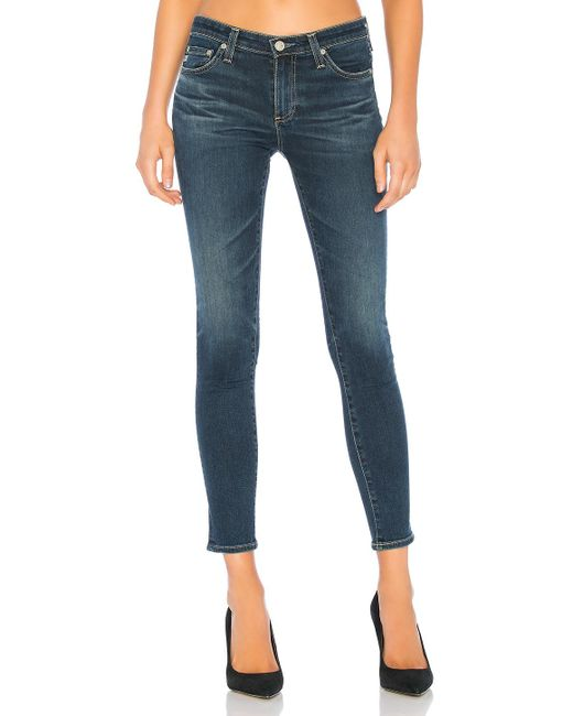 AG Jeans - Blue Legging Ankle - Lyst