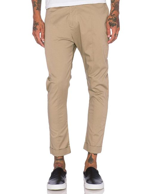 Zanerobe - Brown High Street Chino In Taupe for Men - Lyst