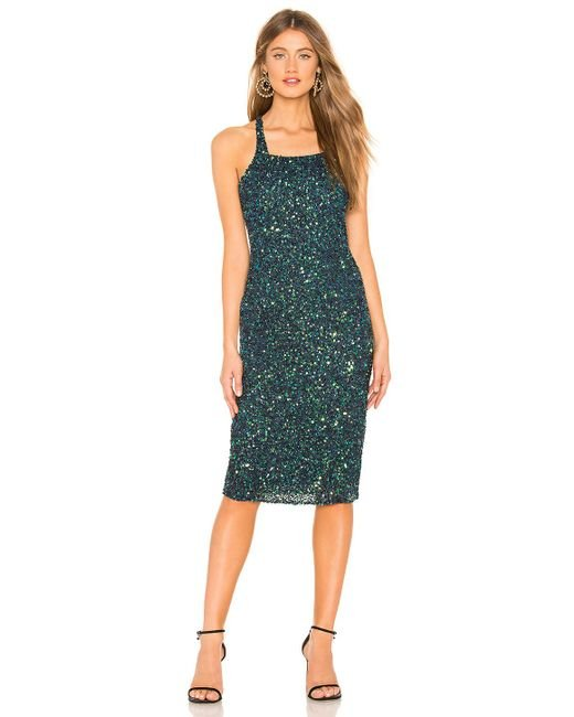 Parker Black - Green Sage Dress In Turquoise - Lyst