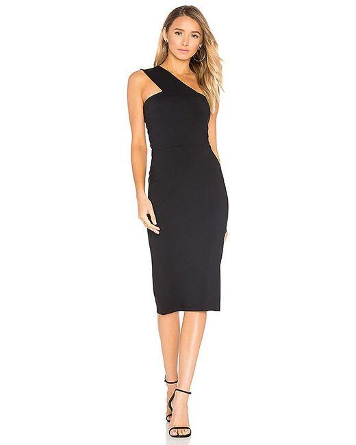 Susana Monaco - Wide Strap Dress In Black - Lyst