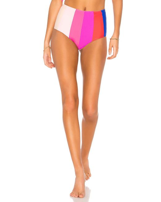 Paper London - Multicolor Rainbow Sunshine Bikini Bottom - Lyst
