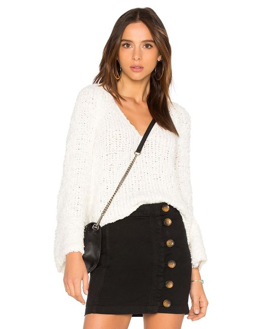 Free People - Sand Dune Pullover In White - Lyst