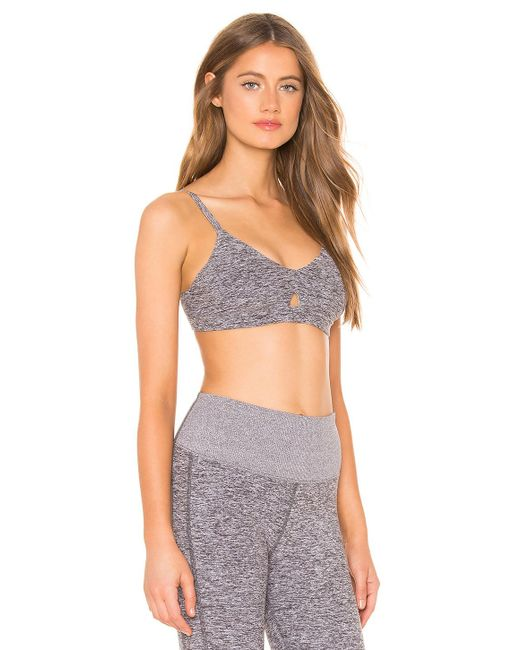 92c830c46f Alo Yoga Lounge Bra (dove Grey Heather) Women s Bra in Gray - Save ...