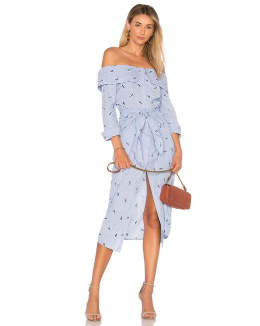 House of Harlow 1960 - Blue X Revolve Nolita Dress - Lyst