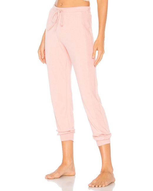 Cosabella - Pink Jogger Pant - Lyst