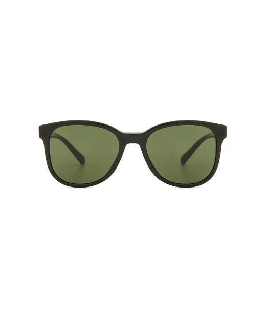 Prada - Green Plaque In Black. - Lyst