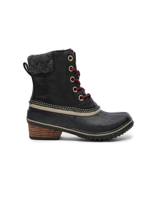 Sorel - Slimpack Ii Lace Boot In Black - Lyst