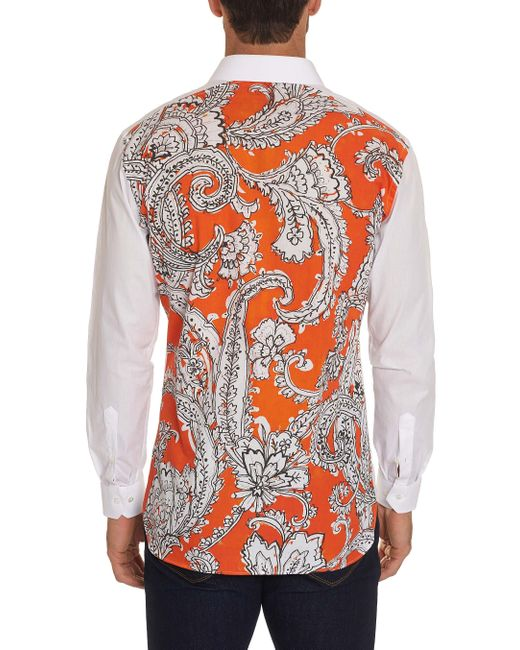 Robert Graham - White Komandoo Sport Shirt for Men - Lyst