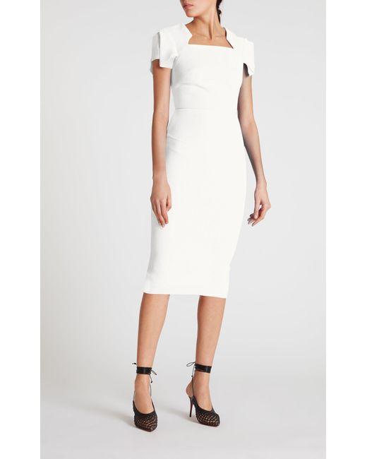 b1da1831c2 Roland Mouret - White Royston Dress - Lyst ...