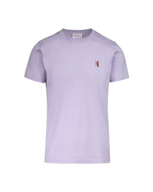 Norse Projects - Purple Niels Multi N Logo Tee for Men - Lyst