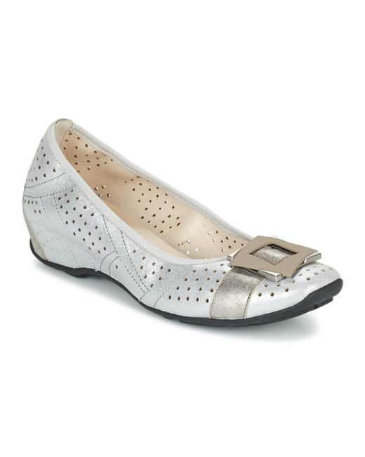 Mam'Zelle - Metallic Fenia Shoes (pumps / Ballerinas) - Lyst