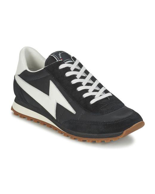 Marc Jacobs - Black Lightening Bolt JOGGER Shoes (trainers) - Lyst