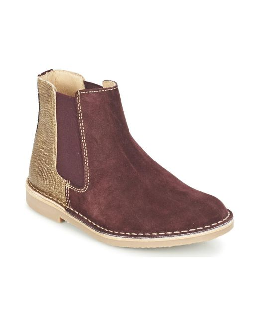 Casual Attitude - Brown Fiana Mid Boots - Lyst