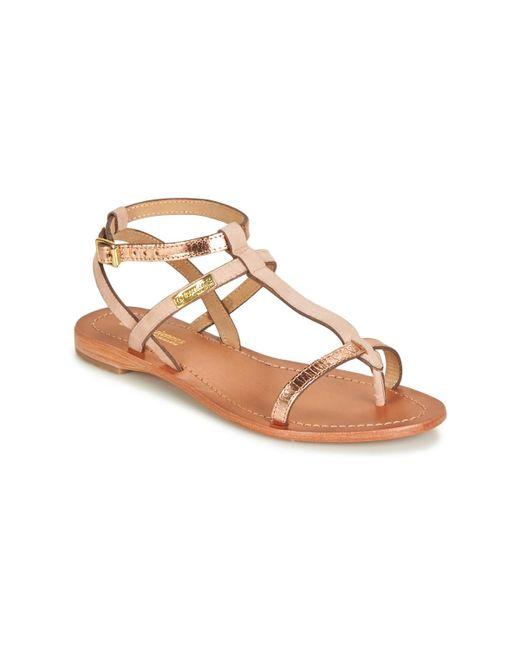 Les Tropéziennes Par M Belarbi Pink Baie Sandals