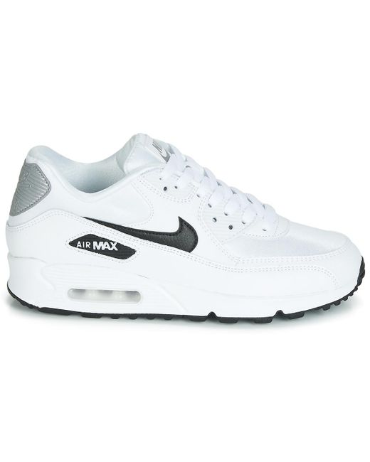 finest selection 364db 97969 ... Nike - White Air Max 90 W Shoes (trainers) - Lyst ...