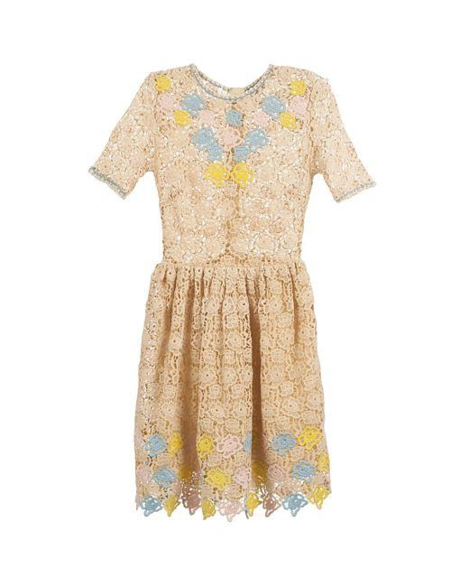 Manoush - Natural Roses Dress - Lyst