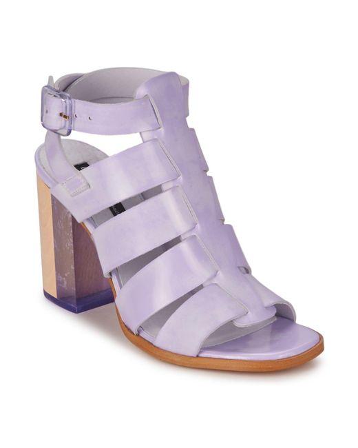 Miista | Purple Isabella Sandals | Lyst