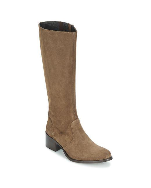 Betty London - Brown Iroin High Boots - Lyst