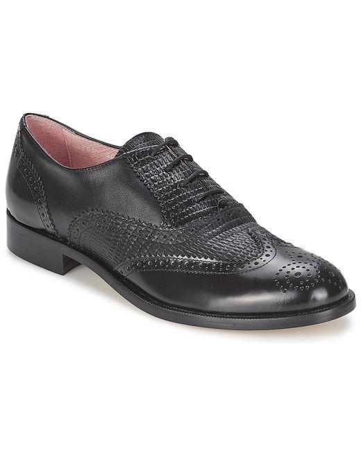 Elia B   Black Spectator Smart / Formal Shoes for Men   Lyst