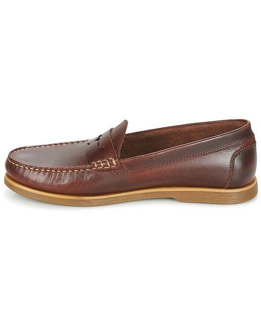 d35cac3bea3 ... Lumberjack - Navigator Men s Loafers   Casual Shoes In Brown for Men ...