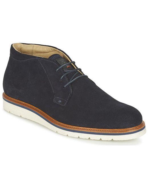 BOSS Orange - Blue 50328960 Mid Boots for Men - Lyst