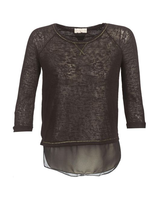 Moony Mood - Black Fouli Long Sleeve T-shirt - Lyst