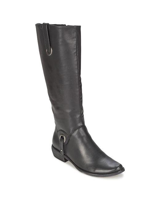 Les P'tites Bombes - Black Adagio High Boots - Lyst