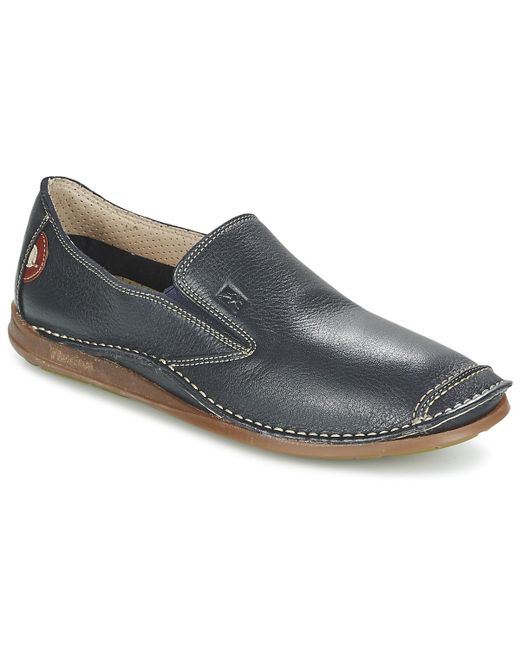 Fluchos - Blue Nautilus Slip-ons (shoes) for Men - Lyst