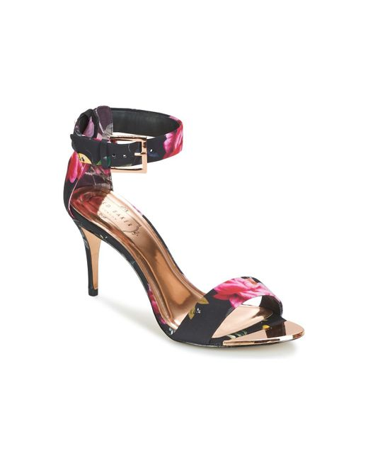 Ted Baker - Black Blynne Sandals - Lyst