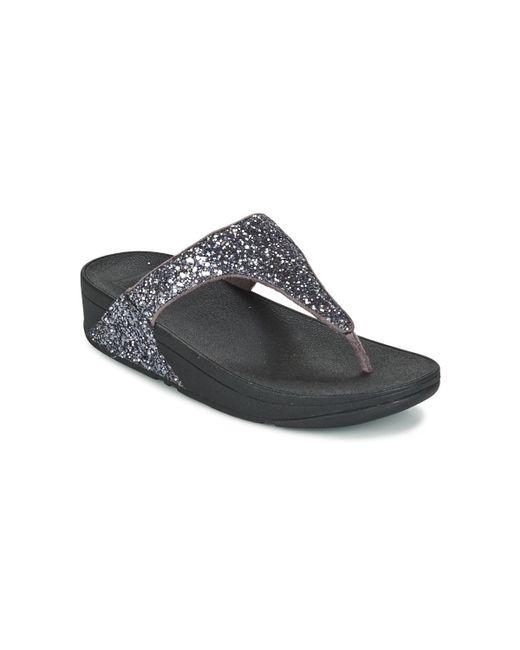a720ed738b67b1 Fitflop - Metallic Glitterball Toe Post Flip Flops   Sandals (shoes) - Lyst  ...