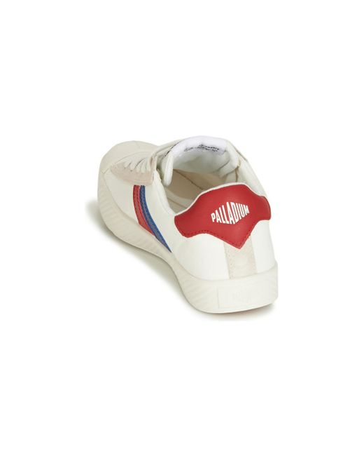 ... Palladium - White Pallaphoenix Flame C Shoes (trainers) - Lyst ... 326b7c9f8