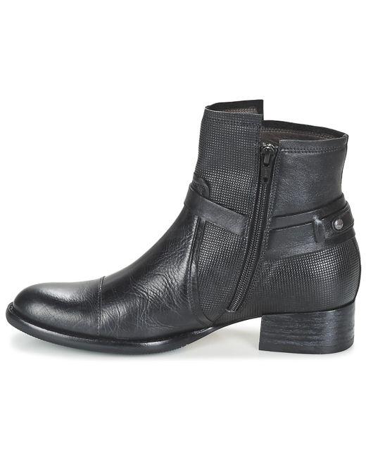 ... Mam'Zelle | Black Jerome Mid Boots ...