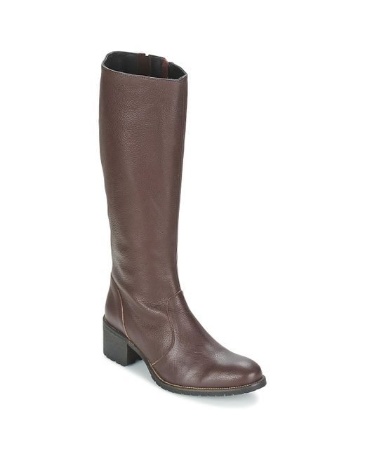 Betty London | Brown Irma High Boots | Lyst
