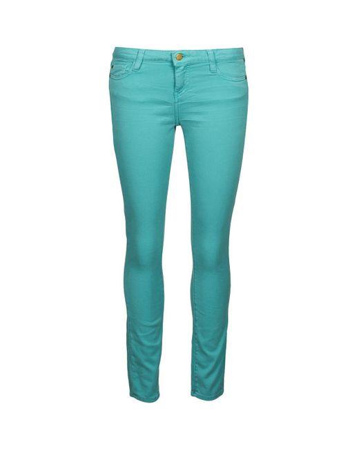 Acquaverde   Blue Scarlett Skinny Jeans   Lyst