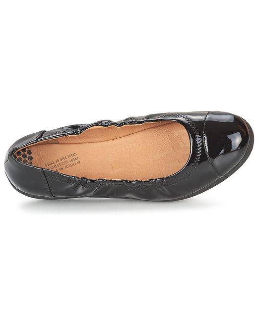 f27b26d069bd ... Fitflop - Black F-pop Ballerina Patent Shoes (pumps   Ballerinas) - Lyst  ...